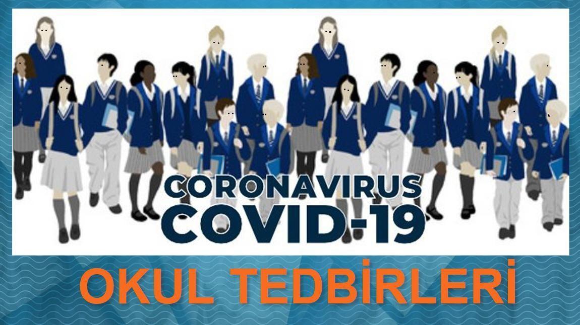 COVİD-19 OKUL TEDBİRLERİ - Göynük Fen Lisesi